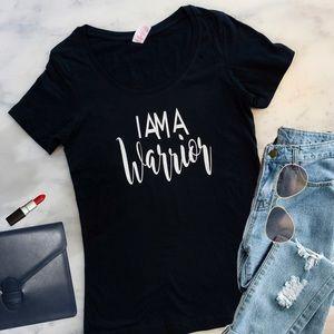 Warrior Inspirational Womens T Shirt